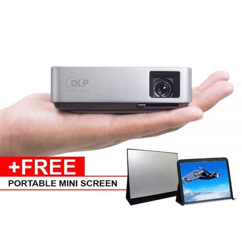 Asus S1 LED Pocket Projector + Mini Screen