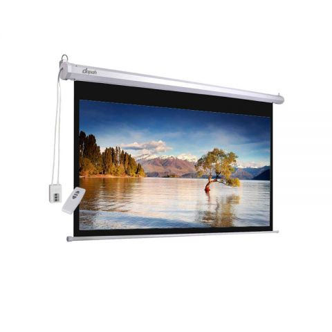 "Dopah Motorized Projection Screen 70"" X 70"""
