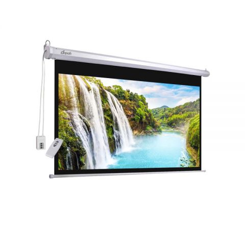 "Dopah Motorized/Electric Projection Screen 96"" X 96"""