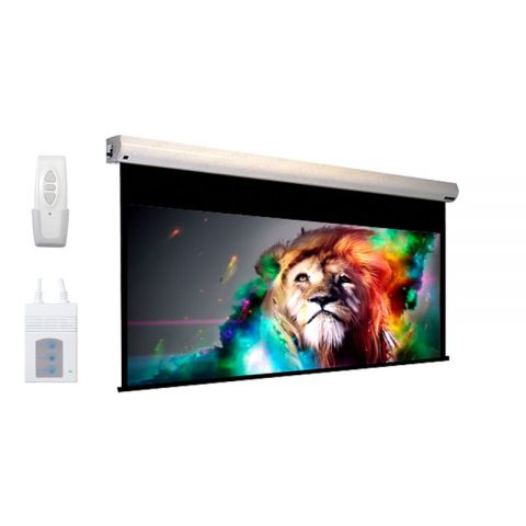 """DP Motorized/Electric Projection Screen 192"""" x 192"""" (Seamless)"""