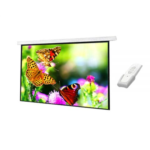 """DP Motorized/Electric Projection Screen 96"""" x 96"""""""